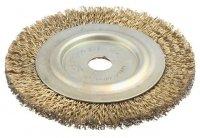 Щетка для УШМ дисковая 100х8 мм STAYER (3518-100)