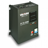 Стабилизатор напряжения VOLTRON PCH-5000 BlackSeries