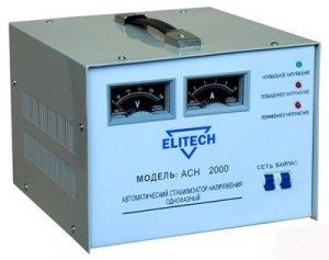 Стабилизатор напряжения ELITECH АСН 2000