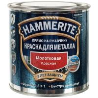Эмаль молотковая красная, 2,5л Хаммерайт