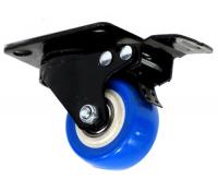 Колесо поворот. черная резина с торм. 25065 65*23