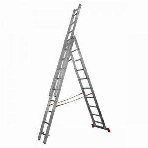 Лестница трехсекционная STAIRS 10 ступеней L310