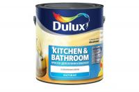 Краска Dulux Ultra Resist д/кухни и ванны д/стен и потолков матовая BW 2,5 л