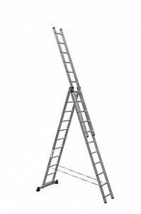 Лестница трехсекционная АЛЮМЕТ 3*11 (5311)