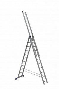 Лестница трехсекционная АЛЮМЕТ 3*15 (6315)