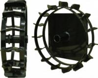 Металлические колеса D=288 мм для HUSQVARNA TF 230 (5882670-01)