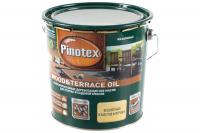 ПИНОТЕКС WOOD OIL & Terrace OIL 2,7 л бесц. масло