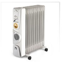 Радиатор масляный COMFORT С55 с тепловентилятором 9 секций