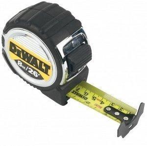 Рулетка 8м DeWALT DWHT0-33662