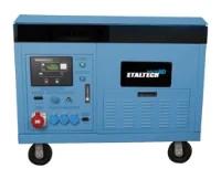 Электростанция бензиновая ETALTECH industrial HD DPG 10000 Е