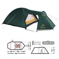 Палатка Normal НЕВА 3 туристическая (хаки)