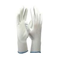 Перчатки нейлоновые 13 кл с полиурет.обливом.Супер Люкс белые 7 р.