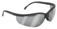 Очки защитные спортивные серые, зеркальные TRUPER