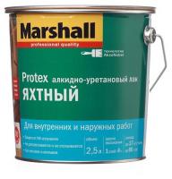 ПРОТЕКС водост. яхтный лак п/мат., 2,5л