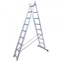 Лестница 2х секц. STAIRS 8 ступеней L208