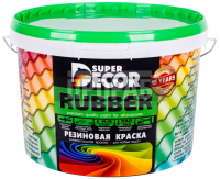 Краска резиновая Super Decor №17 небесный 12 кг